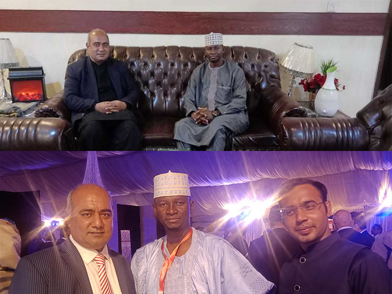 Dr. Ibrahim Danjuma on board with Minhaj Halal Pakistan