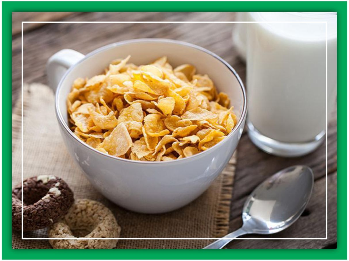 Cereal and confectioneries